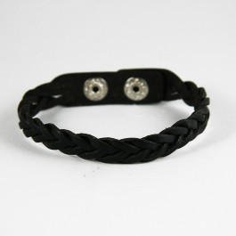 Braided Leather Bracelet (045)