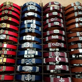 Leather Wristband Set (65)