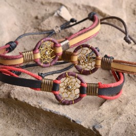 Dream catcher bracelets (008)